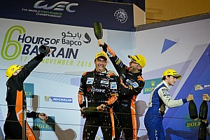WEC Комментарий В G-Drive Racing не верили, что смогут победить в Бахрейне