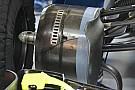 技术短文:威廉姆斯FW38前轮刹车管的改动