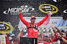 Kyle Larson earns first ever Sprint Cup win at Michigan