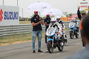 Other bike Race report Coimbatore TVS Apache 200: Subramaniam thwarts rivals to take double win