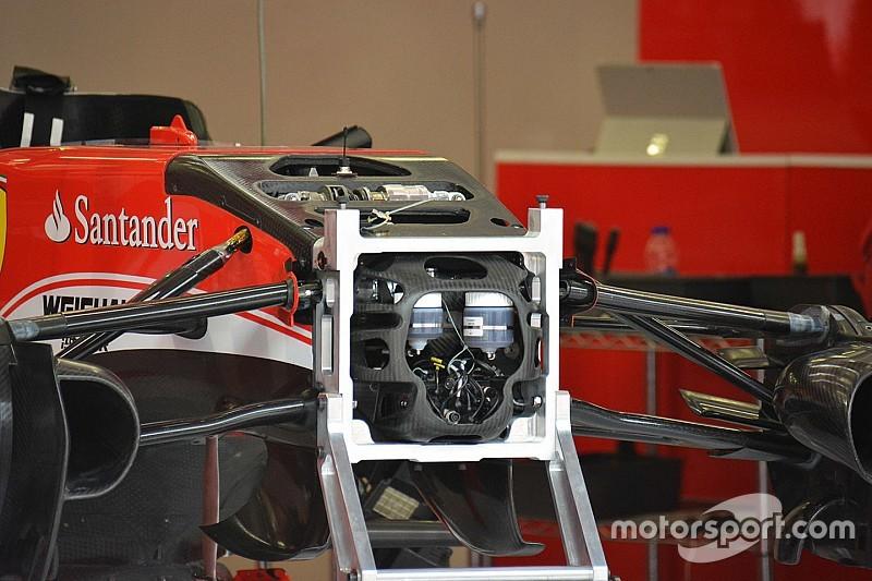 Bite-size tech: Ferrari front suspension