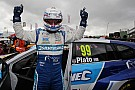 BTCC Knockhill BTCC: Plato marks 500th start with first win of 2016