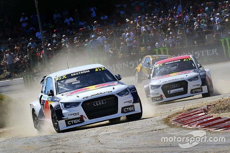 Audi backing crucial to future of Ekstrom's rallycross team