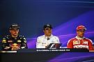 Formula 1 Belgian GP: Post-qualifying press conference