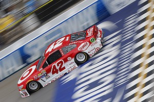 NASCAR Sprint Cup Breaking news Larson and interim crew chief penalized for Michigan infraction