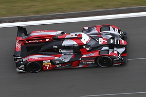 WEC Qualifying report Nurburgring WEC: Audi locks out front row ahead of Porsche