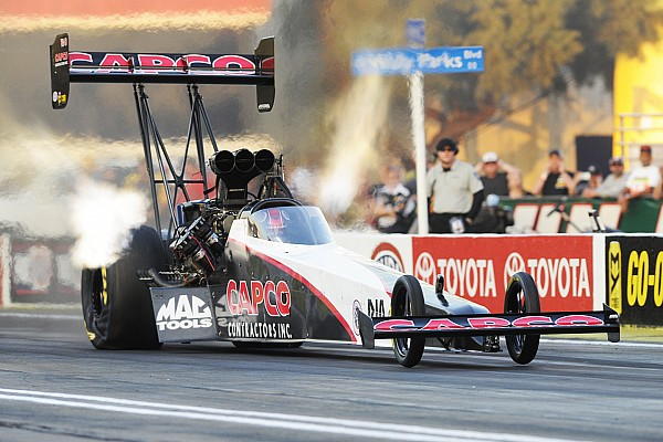 NHRA Torrence, Beckman and Anderson go P1 in Pomona