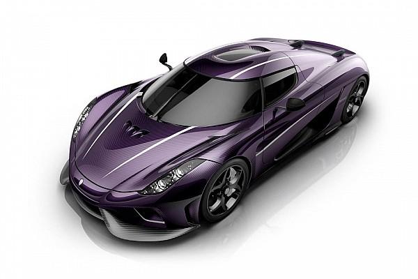 Auto Actualités Une Koenigsegg Regera en hommage à Prince