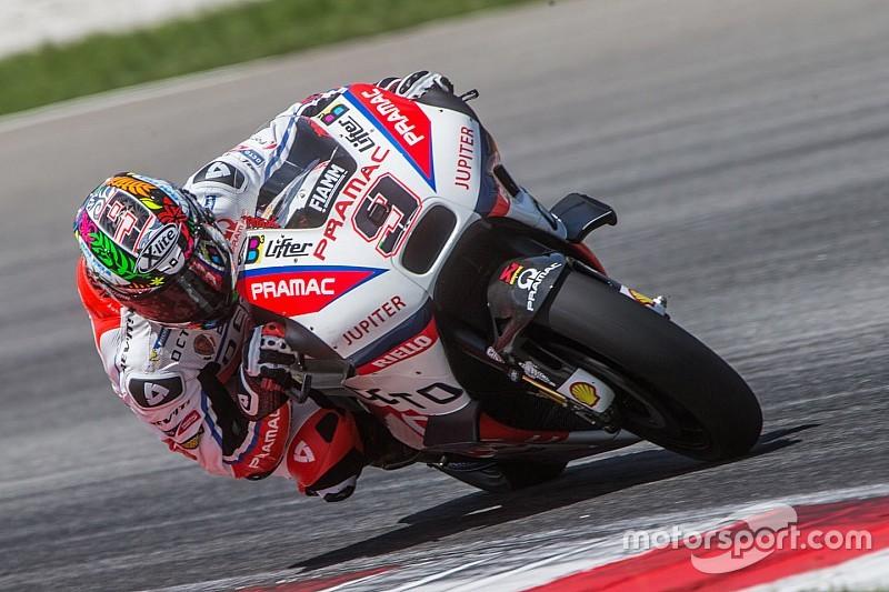 MotoGP雪邦测试第二天:佩特鲁奇第一 巴兹高速摔车