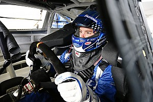 NASCAR Sprint Cup Interview Stenhouse holding his breath that Roush improvement continues