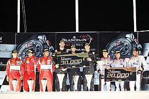 Blancpain Endurance Race report A podium finish rewards the Team WRT after a Ricard 1000 kms rich in race incidents