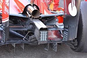 Formula 1 Analysis Bite-size tech: Ferrari blown axle and diffuser changes