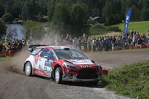 WRC Stage report Finland WRC: Meeke seals victory, Neuville tops Power Stage