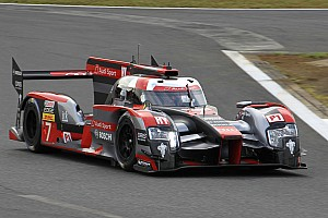 WEC Practice report Fuji WEC: Audi leads Toyota in opening practice