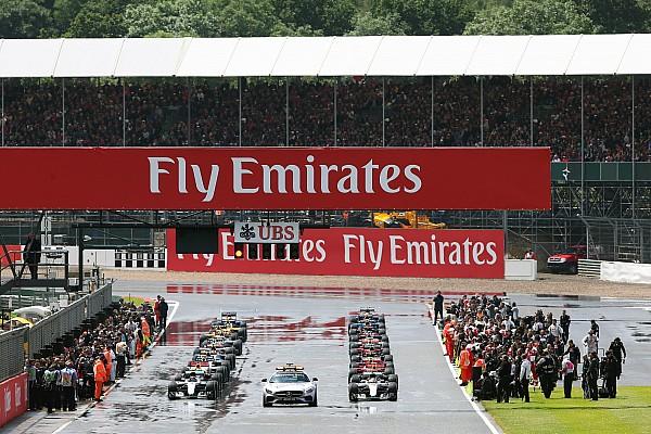 Formula 1 Breaking news Formula 1 agrees on wet standing starts
