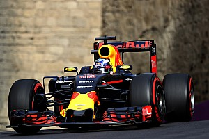 Formula 1 Race report A frustrating race for Red Bull at Baku