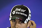 Force India sure Perez will stay on in 2017