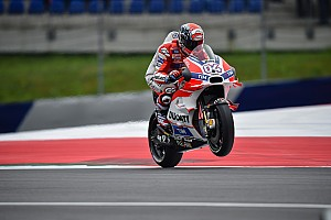MotoGP Practice report Austria MotoGP: Dovizioso fastest as Ducati dominates FP2