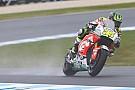 MotoGP Australian MotoGP: Crutchlow tops wet opening practice