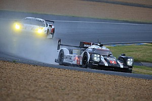 Le Mans Qualifying report Le Mans 24 Hours: Porsche still on top after wet second qualifying