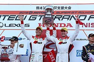 スーパーGT 速報ニュース 【スーパーGT】藤井誠暢「悔しい気持ちを引きずってきた。ようやく優勝できて嬉しい」
