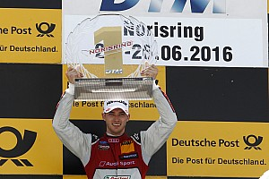 DTM Race report Norisring DTM: Mortara wins as Ekstrom crashes into leading Mercs
