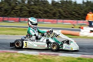 Kart Race report Ardigo beats Iglesias to win first race of European KZ championship