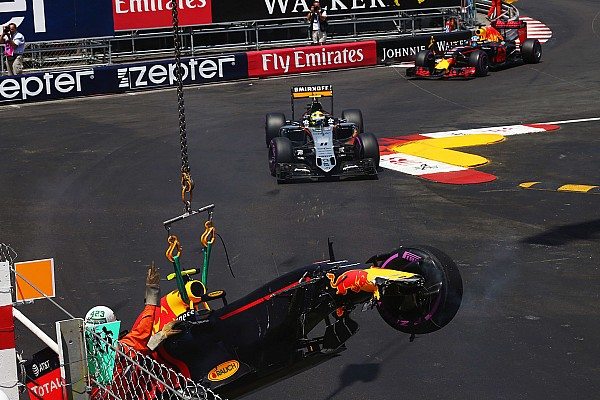 Formula 1 Verstappen admits misjudgement in Monaco qualifying crash