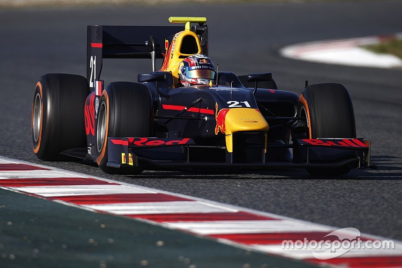 Gasly dethrones Sirotkin on Day 2 in Barcelona