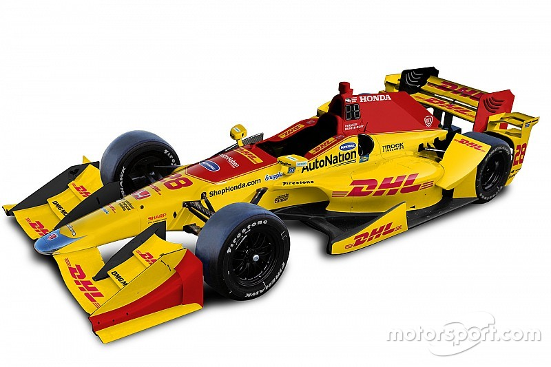 Andretti reveals unified theme for 2016 IndyCar liveries