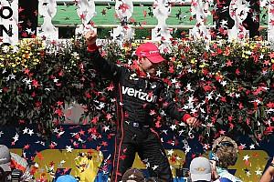 IndyCar Race report Power wins Pocono as Pagenaud crashes