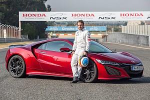 OTOMOBİL Özel Haber Fernando Alonso yeni NSX'in limitlerini zorladı