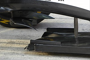 Bite-size tech: Ferrari's under chassis 'bat-wing'