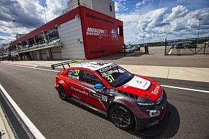 WTCC Qualifying report A day of firsts in Moscow