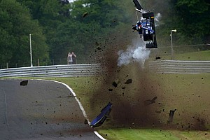 BF3 Breaking news Vaidyanathan escapes horror crash at Oulton Park