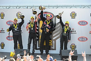 NHRA Race report Brittany Force, Wilkerson, Line and Hines earn Four-Wide wins
