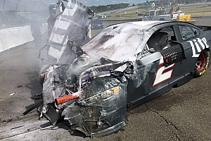 Keselowski walks away from big testing shunt at Watkins Glen