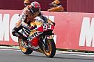Argentina MotoGP: Marquez crashes but still tops third practice