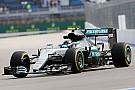 Russian GP: Rosberg leads Mercedes 1-2 in opening practice