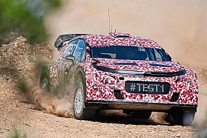 WRC Testing report Citroën Racing continues development of its 2017 World Rally Car in Portugal