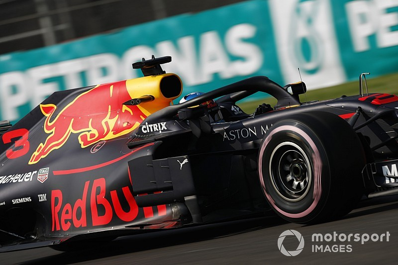 F1: pole position pour Daniel Ricciardo à Mexico City
