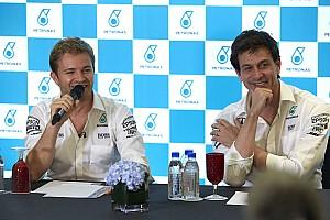 Формула 1 Новость Росберг не смог в лицо сказать Вольфу о решении уйти