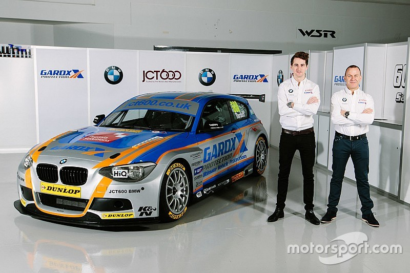 Tordoff, Collard stay with WSR for 2016 BTCC