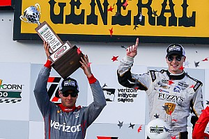 "IndyCar Breaking news Power says Newgarden was ""obvious"" choice for Penske"