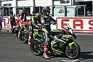 WSBK Chamboulement sur la grille de la deuxième course WSBK