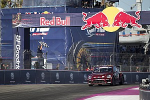 Global Rallycross Race report Scott Speed wins first leg of GRC Los Angeles