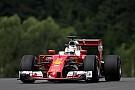 Formula 1 Austrian GP: Vettel leads Ferrari 1-2 as Rosberg crashes heavily