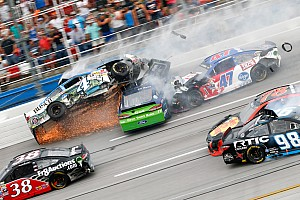 NASCAR Sprint Cup Race report Keselowski wins carnage-filled slugfest at Talladega