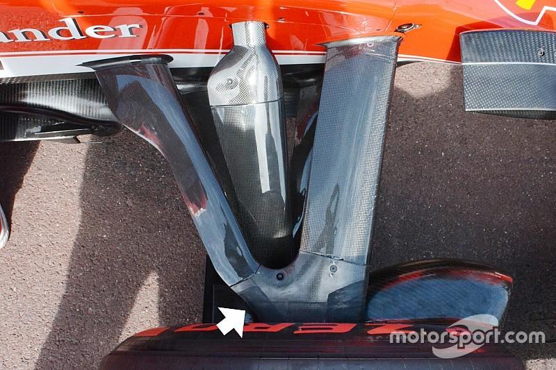 Bite-size tech: Ferrari SF16-H front suspension