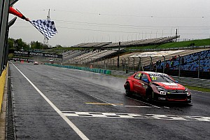 WTCC Race report Maximum points for Citroën in Hungary!